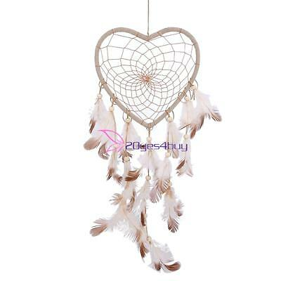 Traditional Handmade Dream Catcher with Feathers Wall or Car Hanging Ornament