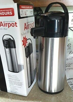 Service Ideas Airpot Select-Air - 2.2L / 8 Hour Retention - Commercial Quality