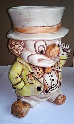 Treasure Craft Vintage Hobo Cookie Jar 1950's