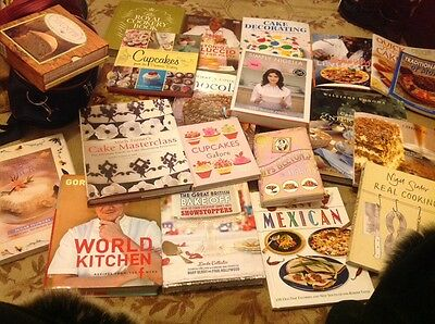 Job Lot Of 100 Cook Books /Recipe Books .Bargain