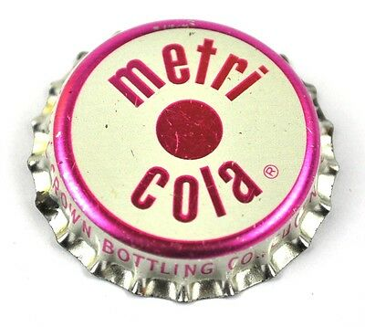 Vintage RC Royal Crown Metri Cola Kronkorken USA Soda Bottle Cap Korkdichtung