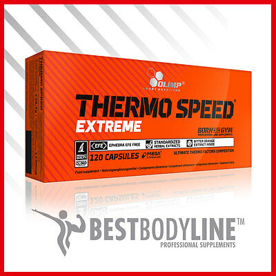 OLIMP THERMO SPEED EXTREME - Diet Slimming Pills - Fat Burner - Weight Loss