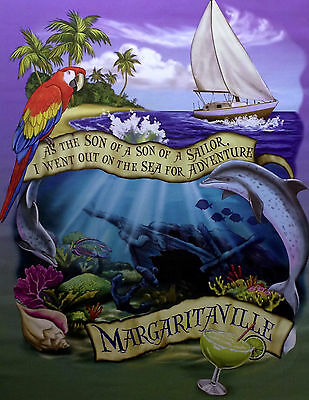 RARE Jimmy Buffett Margaritaville Son Of A Sailor Photo Print Poster 11x14