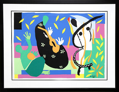 Sorrows of the King La Tristesse Du Roi by Henri Matisse 39x28 Museum Print