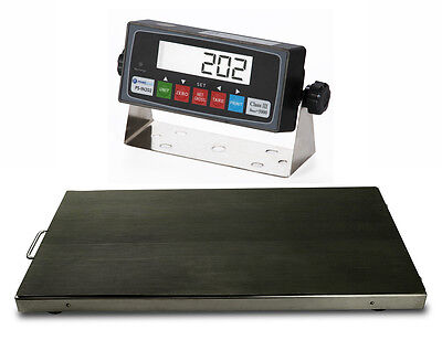 NEW 700x0.1lb Vet Scale/ Animal Scale/ Livestock Scale Stainless Steel Platter