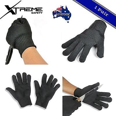 Cut Proof Anti-Stab Gloves Stainless Steel Wire Stab Resistant Cut Proof 1 pair