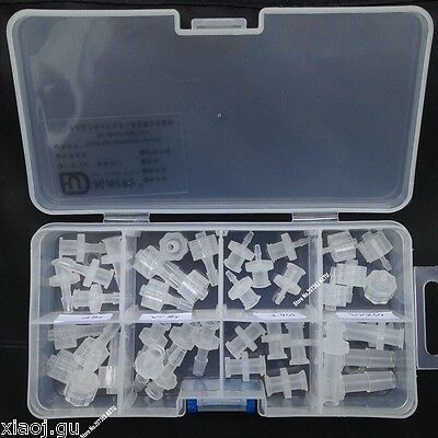 assorted luer taper fitting (polyprop) luer lock fitting syringe connector