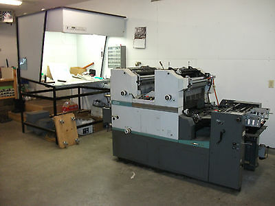 Hamada C-248-E  2-Color Press