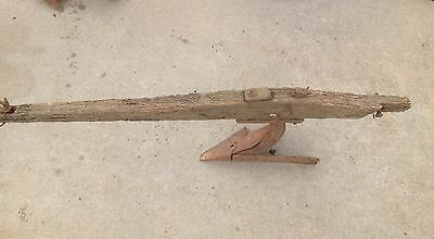 Vintage wooden  Horse Drawn plow , very very old