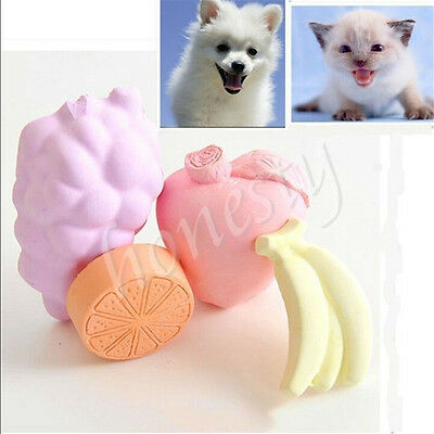 Pet Fruit Teeth Grinding Minerals Stone Hamster Rabbit Totoro Chew Molar Toy