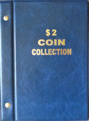 VST AUSTRALIAN COIN ALBUM for $2 COLLECTION 1988 to 2018 + MINTAGES