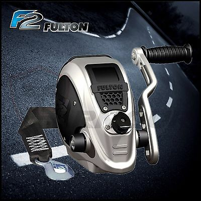 Fulton Boat Trailer Winch F2 Suits Ski Boats 2000 Lbs Capacity Trailer Parts