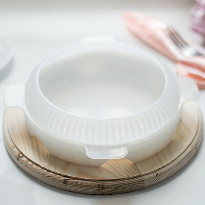 Round Silicone Cake Mold Mousses Ice Cream Chiffon Cakes Baking Pan