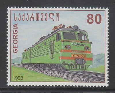 Georgia 1998 - Locomotive - Train - T. 80 - Mnh