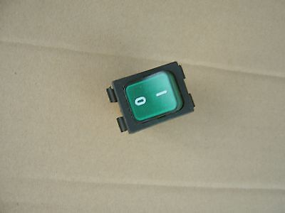 Commercial Fridge On/off Green Illuminated Rocker Switch Md 401L, 16A 250V