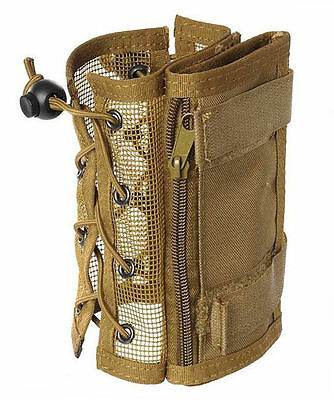 MFH Explorer Arm Map Pouch for Hiking Airsoft Military Hunting Coyote