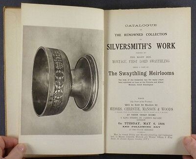 Antique English Sterling Silver - Lord Swaythling (Montagu) Collection - 1924