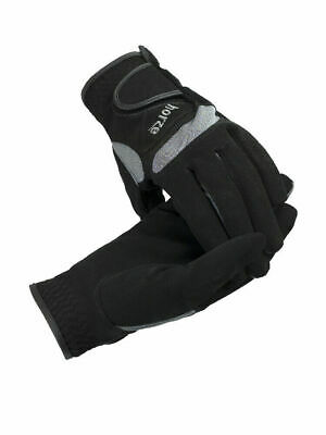 Horze Lyon Synthetic Leather Gloves - Horse Riding Gloves