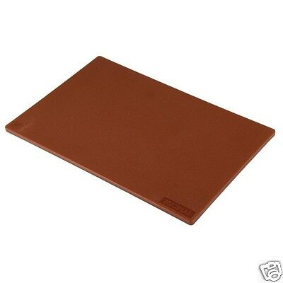 Professional Catering Cutting Board Vegetables Brown 450 x 300 x 10.5mm M2