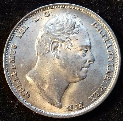 1831 William 1V Sixpence. S.3836. Almost Unc. 90% Lustre.