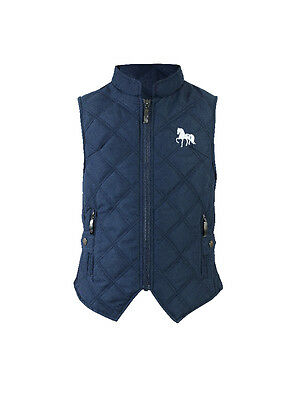 Horze Happy-Go-Lucky Children's Quilted Vest - Children's Clothing