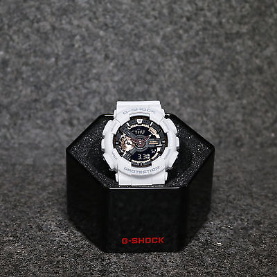 G-Shock GA110RG White Rose Gold Black
