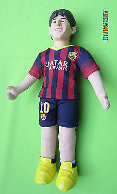 LARGE 18 inch  Barcelona LIONEL Messi doll toy souvenir Cloth and plastic