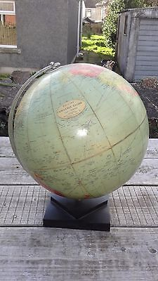 "Vintage 1950's/60's 13.5"" Phillips Challenge Globe on Base"
