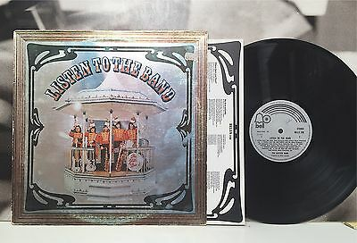 The Glitter Band - Listen To The Band Lp Vg-/ex+ Uk 1975 Bell Rec. Bells 259