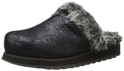 BOBS from Skechers Women's Keepsakes Winter Wonder Memory-Foam Slipper