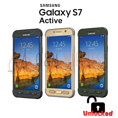 Samsung Galaxy S7 Active 32GB SM-G891A - GSM Unlocked AT&T T-Mobile - All Colors