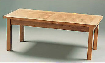 NEW Fixed Grid Solid Teak Dining Table