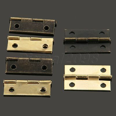 Classic Jewelry Box Cabinet Cupboard Dresser Closet Drawer Door Hinges 24mm*16mm