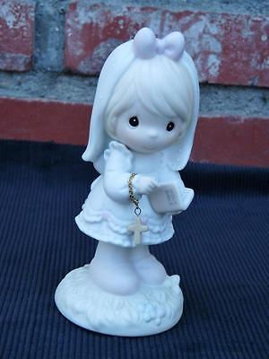 1992 Precious Moments~ This Day Has Been Made In Heaven~ First Communion Figure