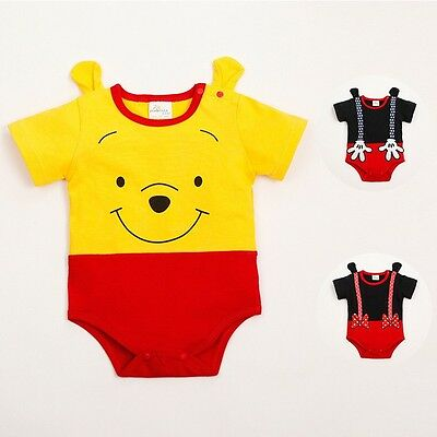 Mickey Minnie Toddler Baby Boy and girl Romper Jumpsuit Cartoon Clothes Onesies1