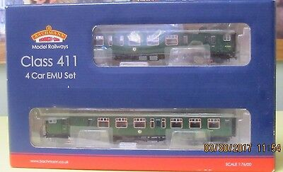Bachmann Branch Line Class 411 4 Car EMU Set DCC Installed Never Opened 31-425A