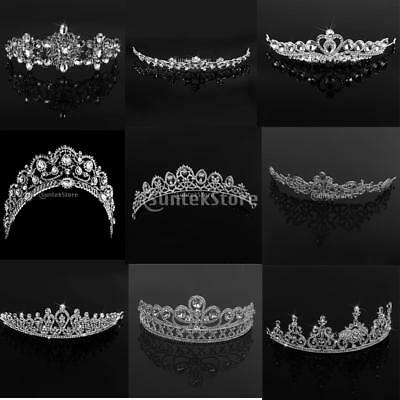 Bridal Wedding Crystal Rhinestone Headbands Tiara Prom Pageant Hair Accessories