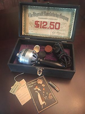 Antique Star Electric Vibrator by Fitzgerald Mfg Co - made in 1922