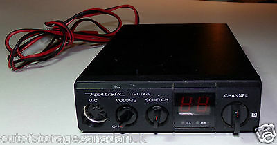 Realistic TRC-479 CB Radio 40 Channel Transceiver - Works Great