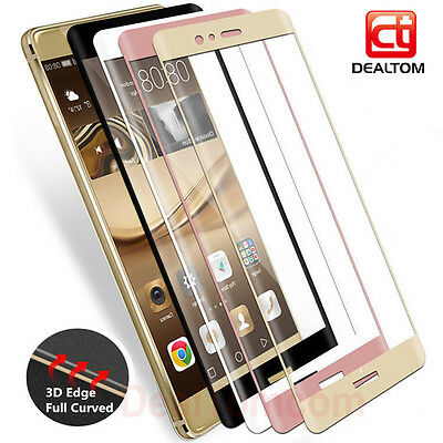 3D Full Cover Tempered Glass Screen Protector Flim For Huawei P20 P10 P8 P9 Lite