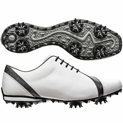 FootJoy Women's Size 6.5 LoPro 97142 Golf Shoes - White/Black - New in Box