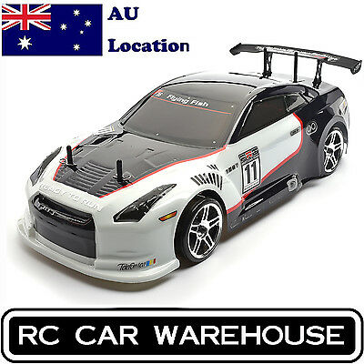 HSP Drift Car 1/10 Scale 4wd Nitro Gas Power On Road Touring Racing RTR RC Car