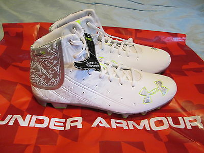 NEW Under Armour BANSHEE Mid MC Football/LaCrosse Molded Cleats 10 FREE SHIPPING