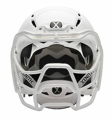 Xenith Epic+ Football Helmet w/PROWL Mask ADULT LARGE White W/FREE VISOR