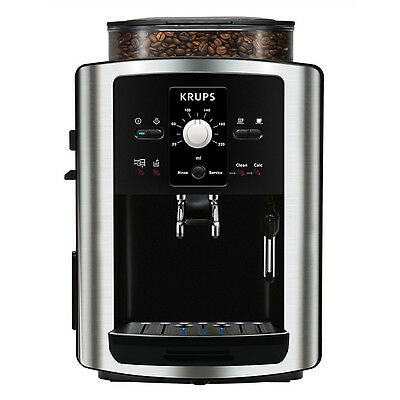 KRUPS EA8010 Automatic Bean-to-Cup Coffee Machine, Two Year Guarantee