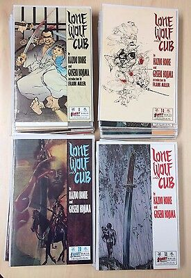 First Pub Lone Wolf and Cub Comics #1-39 Complete Run High Grade NM