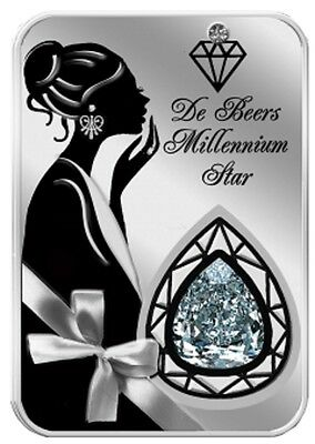 2016 Niue 2$ The Beauty of Diamonds Millenium Star 1oz with Box/CoA. Hot!