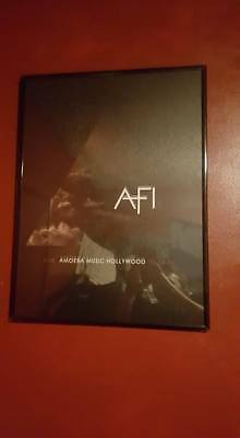 AFI Amoeba Exclusive Poster The Blood Album Poster A Fire Inside goth emo rock