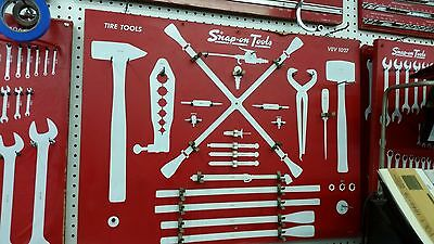 "Snap On  Tool Board for "" Tire Tool Set """