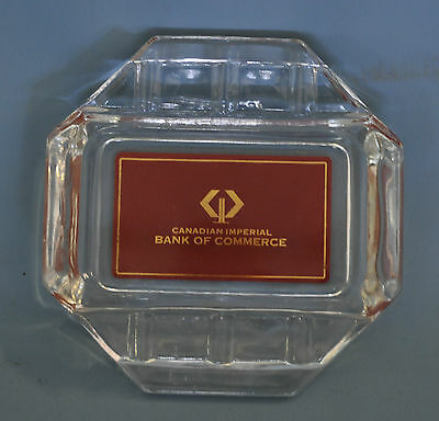 Canadian Imperial Bank of Commerce CIBC Ash Tray Ashtray